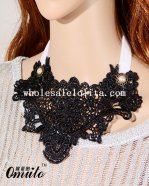 New Handmade Gothic Women Lace Collar Choker Necklace