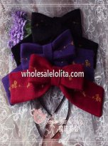 Magic Tea Party Bird Cage Series KC Big Bow Lolita Headband