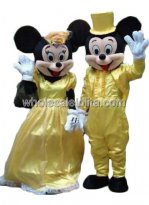 Male Disney Mickey and Minnie Mouse Halloween Costume