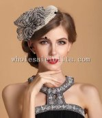 Elegant and Refined Veiled British Pillbox Hat for Ladies